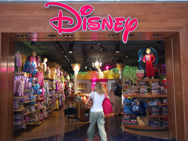 "Disney is introducing ""active"" mannequins in 32 of  its redesigned stores."