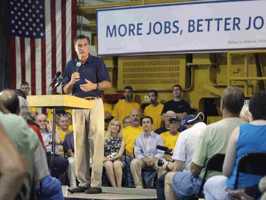 Mitt Romney Pataskala, OH, Wednesday, July 27, 2011.