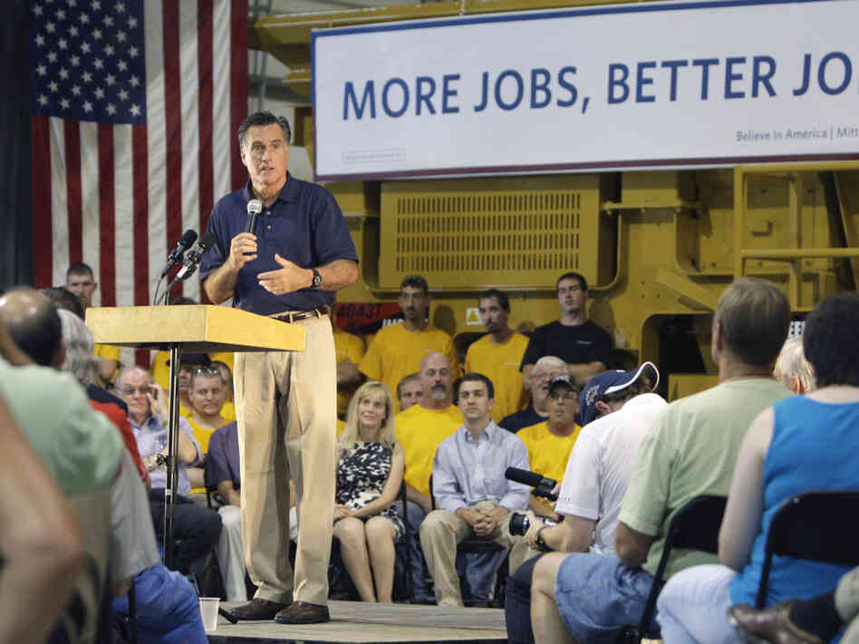 Mitt Romney Pataskala, OH, Wednesday, July 27, 2011.
