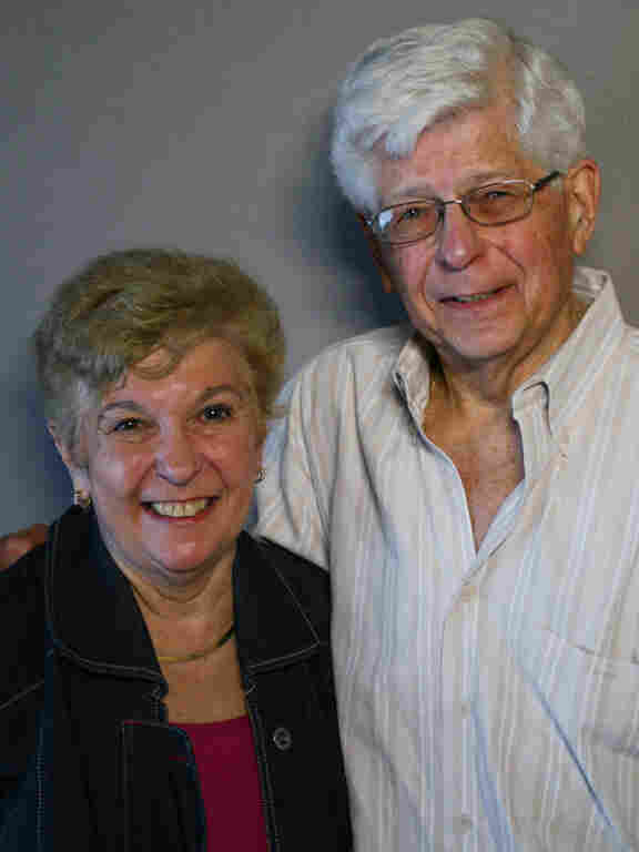 Mort Segal and Joan Feldman remembered their dad at StoryCorps in New York City.
