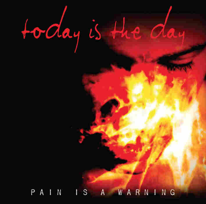 The artwork for Today is the Day's Pain is a Warning.