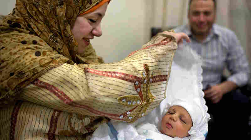 At 7 Days, Egyptian Babies Mark First Rite Of Passage
