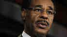 U.S. Rep. Emanuel Cleaver (D-MO), Chair of the Congressional Black Caucus, speaks during a news conference July 20, 2011 on Capitol Hill in Washington, DC. Members of the Congressional Hispanic Caucus, the Congressional Black Caucus and the Congressional Asian Pacific American Caucus held the news conference to discuss the debt ceiling.