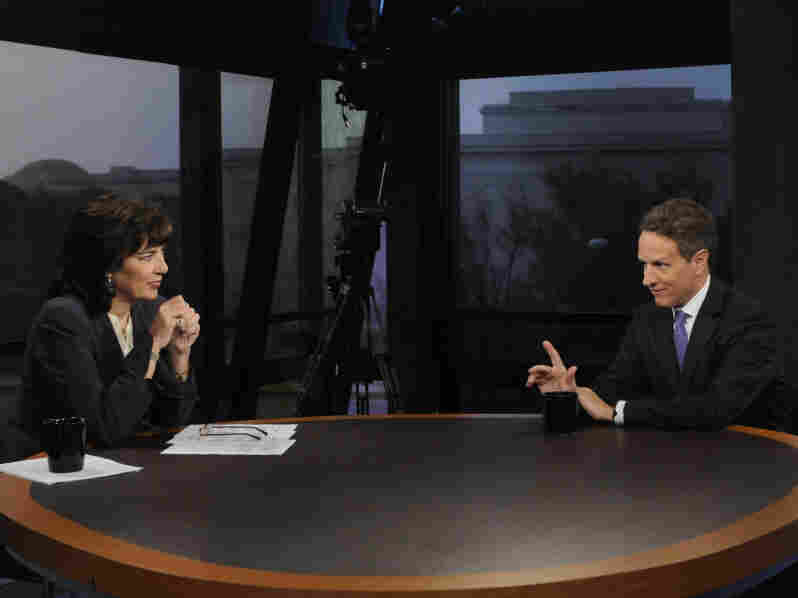 Treasury Secretary Timothy Geithner talks to ABC's This Week host Christiane Amanpour about the debt ceiling on Sunday.