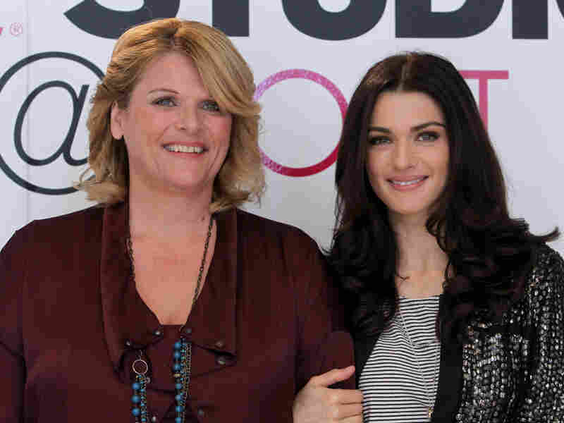 Kathryn Bolkovac (at left), the inspiration for the film The Whistleblower, poses at the Toronto Film Festival in September, 2010 with actress Rachel Weisz, who plays the character based on Bolkovac in the film.