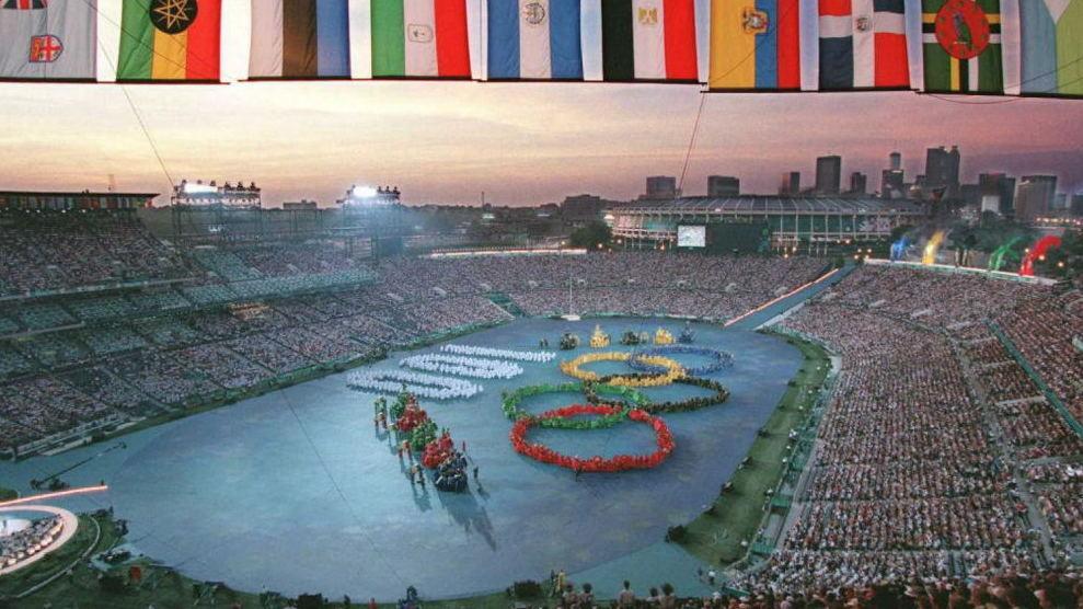 Olympic Triumph Amid Tragedy At 1996 Games NPR