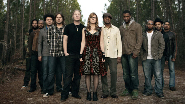 The Tedeschi Trucks band performs live on today's World Cafe.