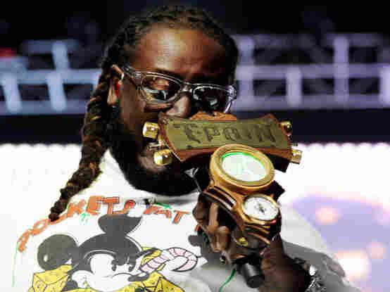 Rapper T-Pain.