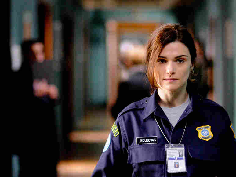 Rachel Weisz as Kathy Bolkovac in The Whistleblower.