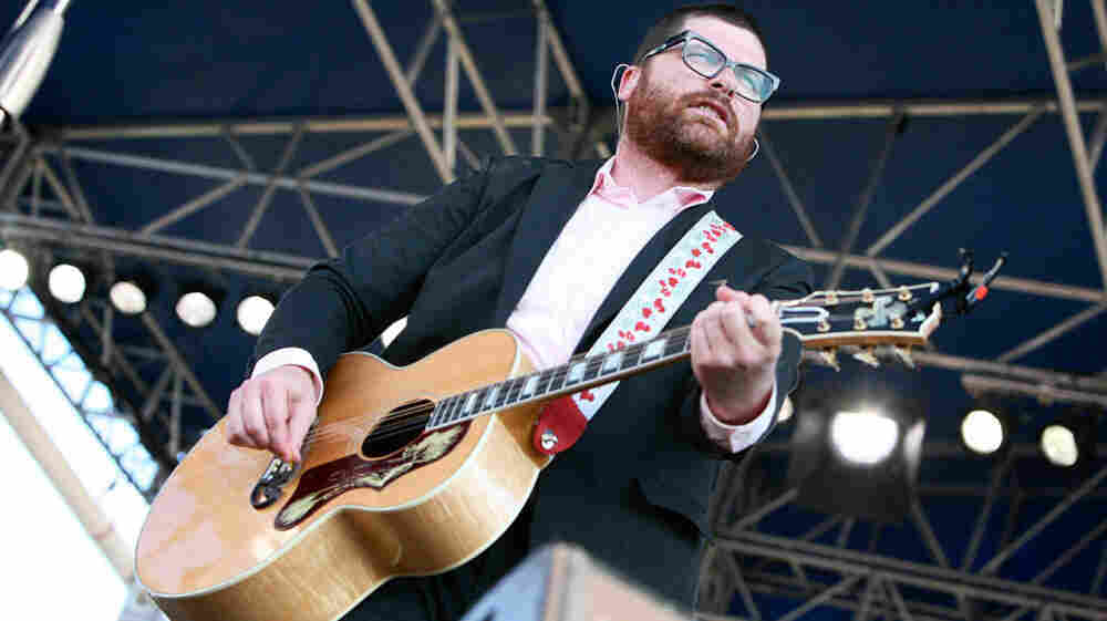 Colin Meloy of The Decembe