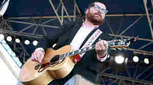 Colin Meloy of The Decemberists performs at the 2011 Newport Folk Festival.