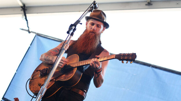 The Devil Makes Three performs at the 2011 Newport Folk Festival.