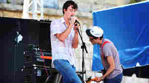 The Felice Brothers performs at the 2011 Newport Folk Festival.