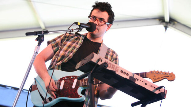 Freelance Whales performs at the 2011 Newport Folk Festival.