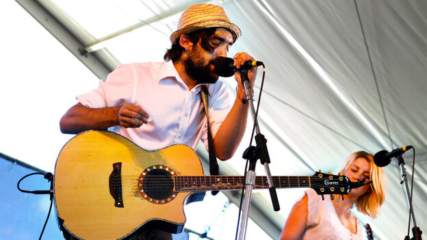River City Extension performs at the 2011 Newport Folk Festival.