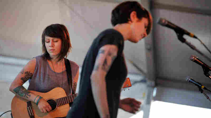 Tegan and Sara, Live In Concert: Newport Folk 2011