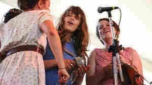 Typhoon performs at the 2011 Newport Folk Festival.