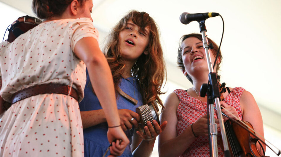 Typhoon performs at the 2011 Newport Folk Festival.