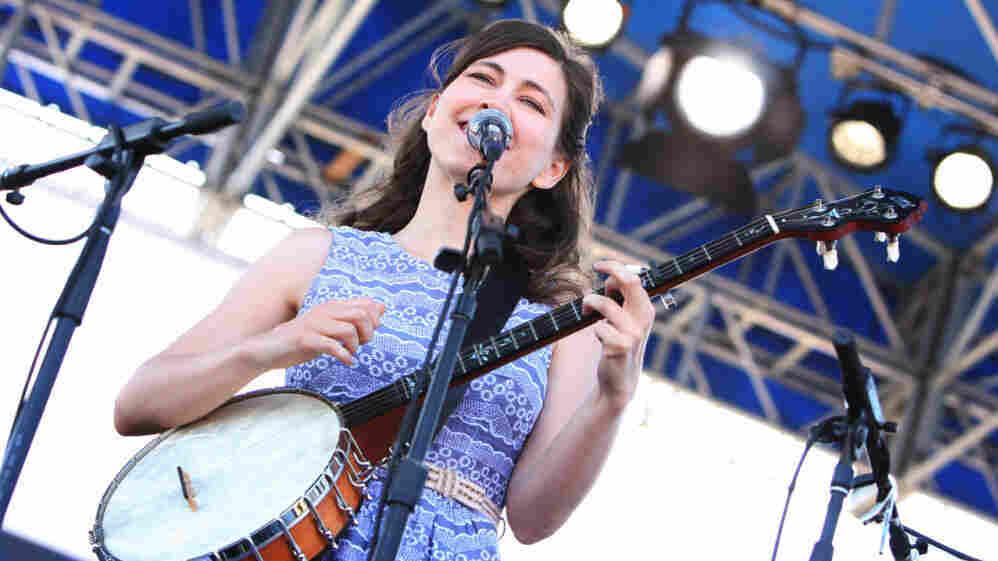 Ruth Moody of The Wailin' Jennys performs at the 2011 Newport Folk Festival.