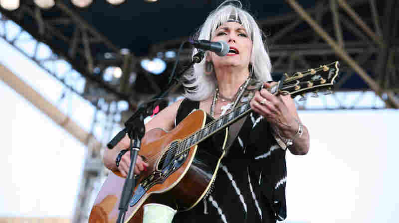 Emmylou Harris performs at the 2011 Newport Folk Festival.