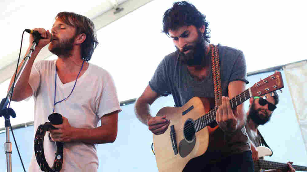 The Head and the Heart performs at the 2011 Newport Folk Festival.