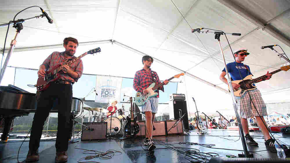 Middle Brother plays the Quad Stage at Newport Folk Fest on Sunday.