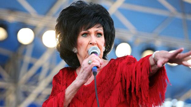 Wanda Jackson performs at the 2011 Newport Folk Festival.