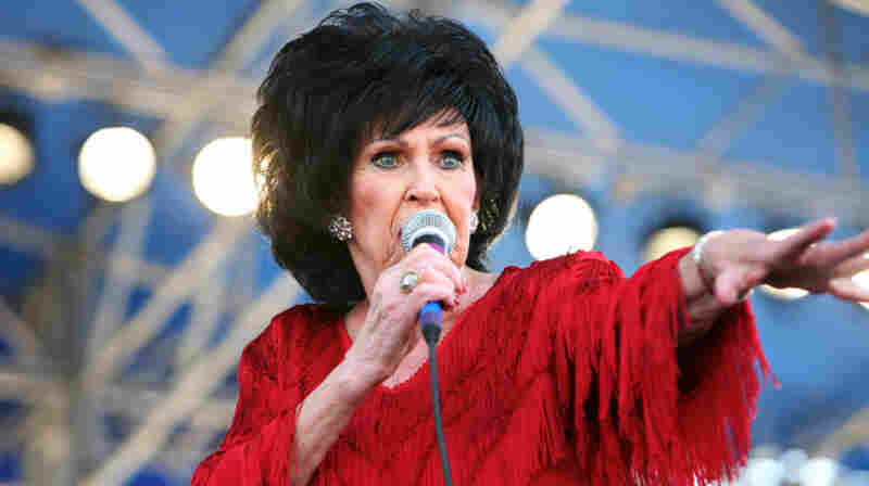 Wanda Jackson performs at the 2011 Newport Folk Festival.
