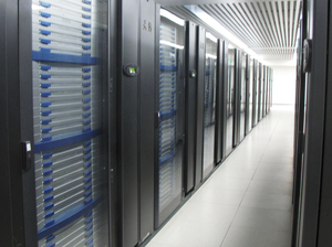 The $60 million Tianhe-1A supercomputer in Tianjin, China.