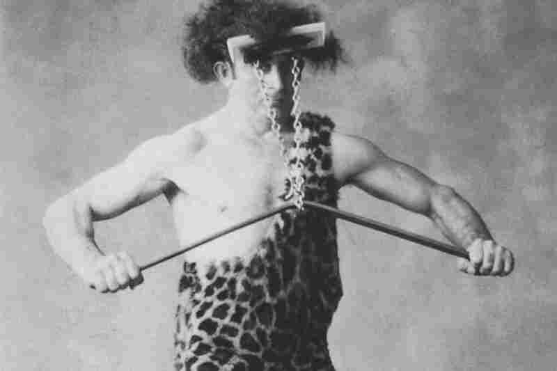 "Known as ""The Mighty Atom,"" Joseph L. Greenstein could bite a nail in half, lift a 470-pound weight with his teeth and bend an iron bar with the resistance of his hair."