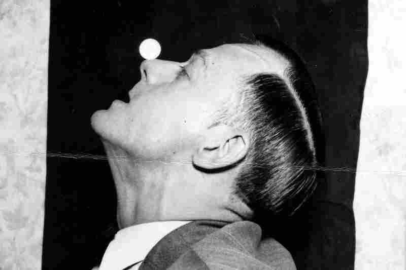 Robert Fern of Dallas, Tex., could balance a quarter on his nose for half a minute, 1933.