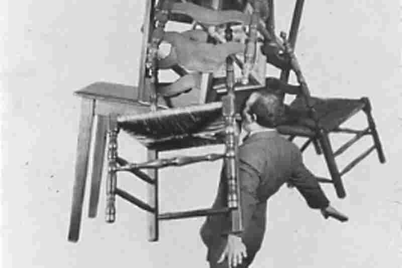 Chicagoan Jackie Del Rio could lifts six chairs and two tables with his teeth, 1938.