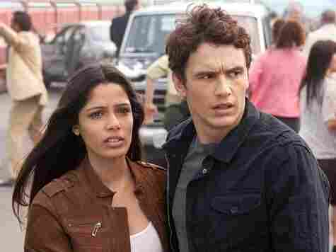 Geneticists Caroline (Freida Pinto) and Will (James Franco) spend most of the film watching helplessly as their own creations do them in — thereby granting Pinto and Franco the unique dishonor of being out-acted by fake animals.