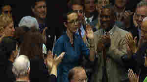 Rep. Gabrielle Giffords Pays House Surprise Visit