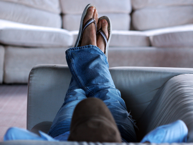 Even 15 minutes off the couch would help. (iStockphoto.com)