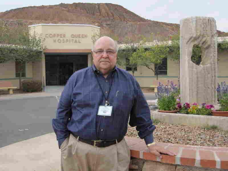 Jim Dickson, the CEO of Copper Queen Community Hospital in Bisbee, Ariz.