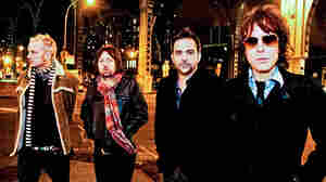 From left to right, Chris Collingwood, Brian Young, Adam Schlesinger and Jody Porter of Fountains of Wayne.