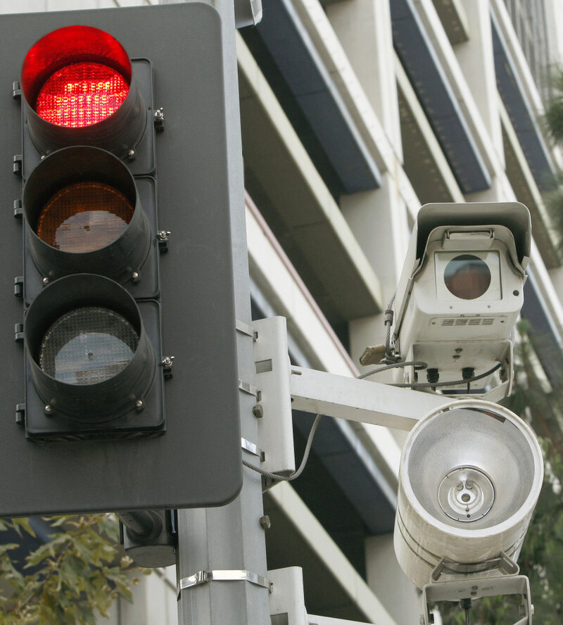 In L A , Paying Red Light Camera Fines Now Optional : NPR
