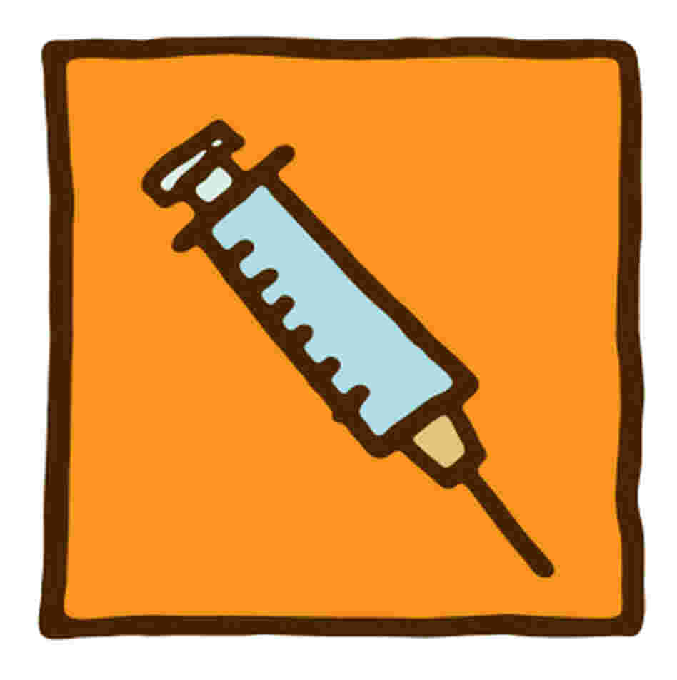 Illustration of a needle.