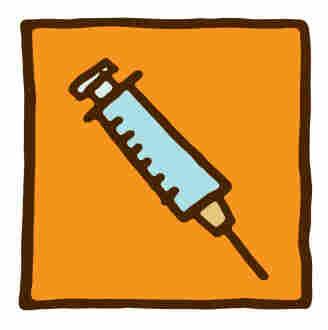 Illustration of a needle.