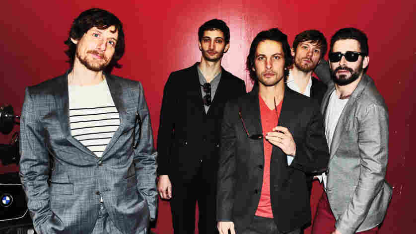 The Sam Roberts Band plays live on today's World Cafe.
