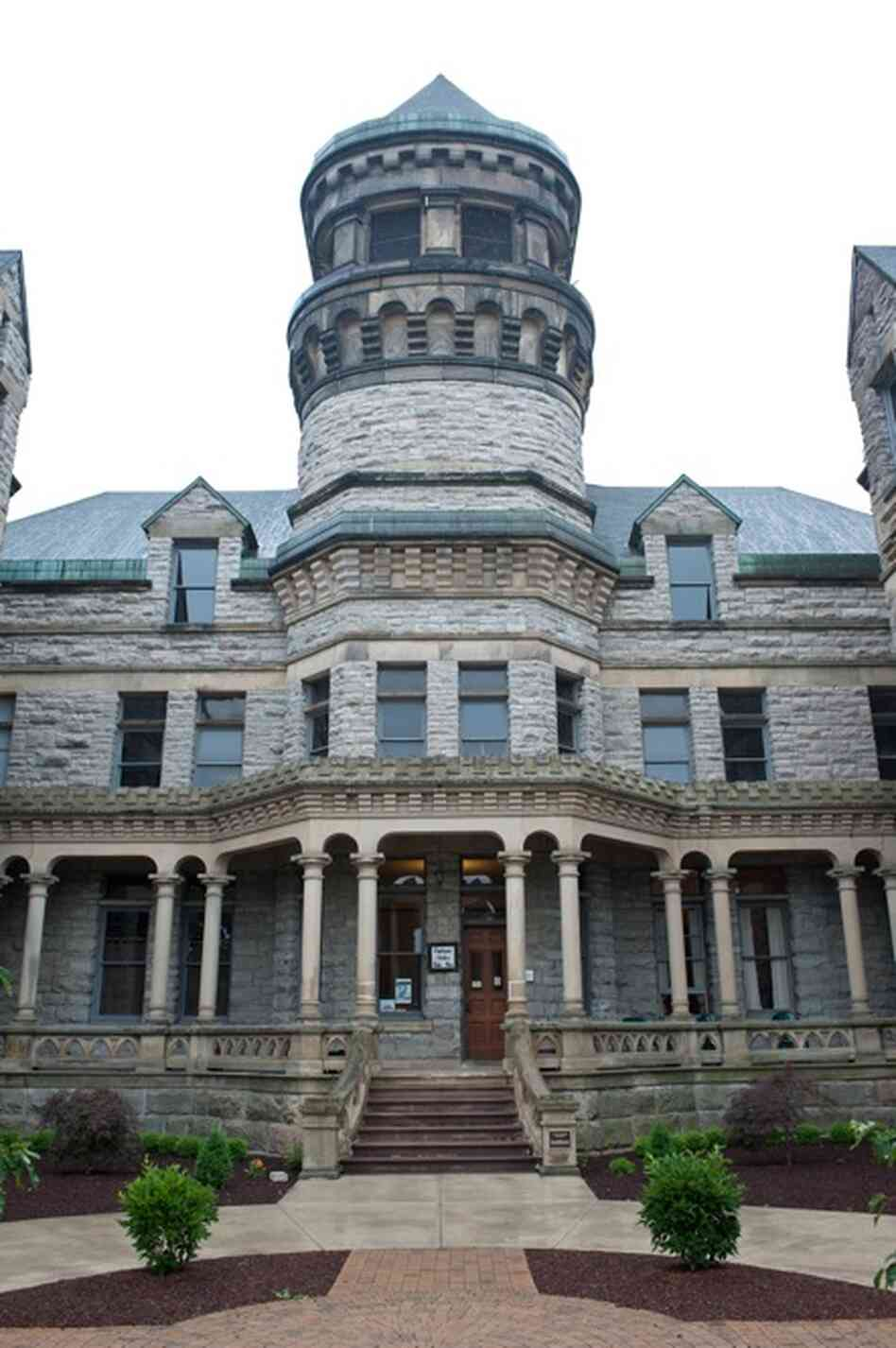 For nearly a century, the Ohio State Reformatory housed roughly 155,000 inmates. Few if any got to use this, the reformatory's front door.