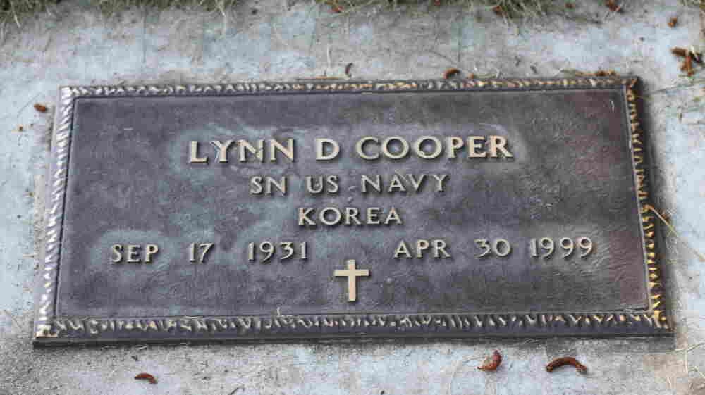 Lynn D. Cooper's grave site in Pine Butte Cemetery in Bend, Oregon, about 22 miles from Sisters, Oregon.