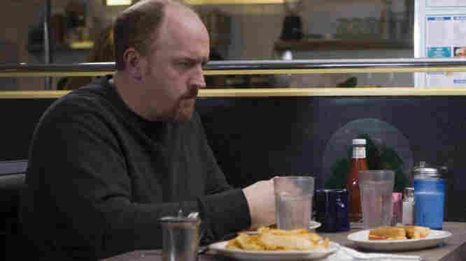 Louis C.K. is nominated for an Emmy this year for his performance in Louie on FX.