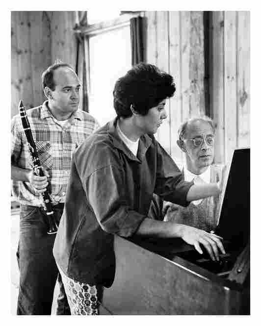 Clarinetist Harold Wright with Benita Valente and Rudolph Serkin in 1960.