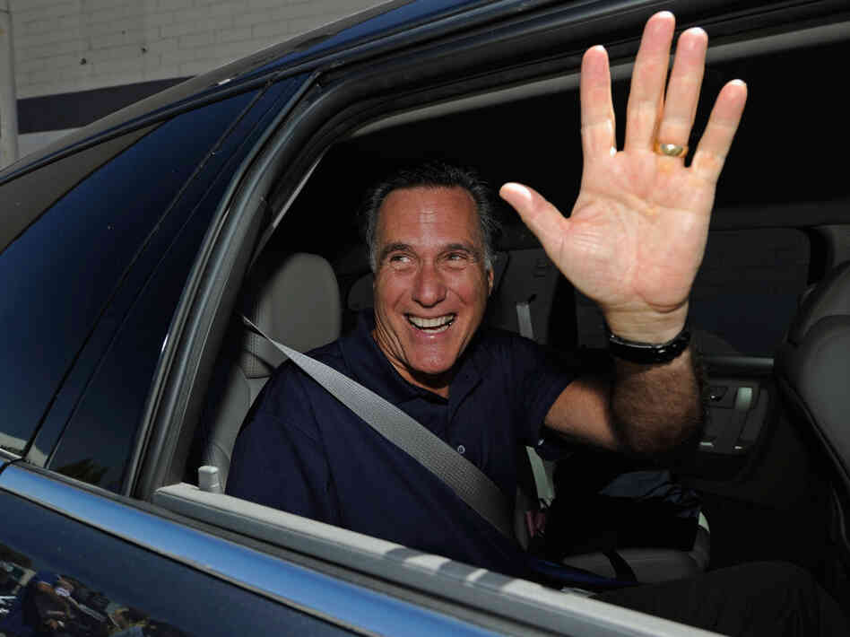 Mitt Romney in Los Angeles, July 20, 2011.