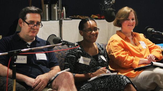 Adam Graham, Tanae Foglia and Kelly Hruska.