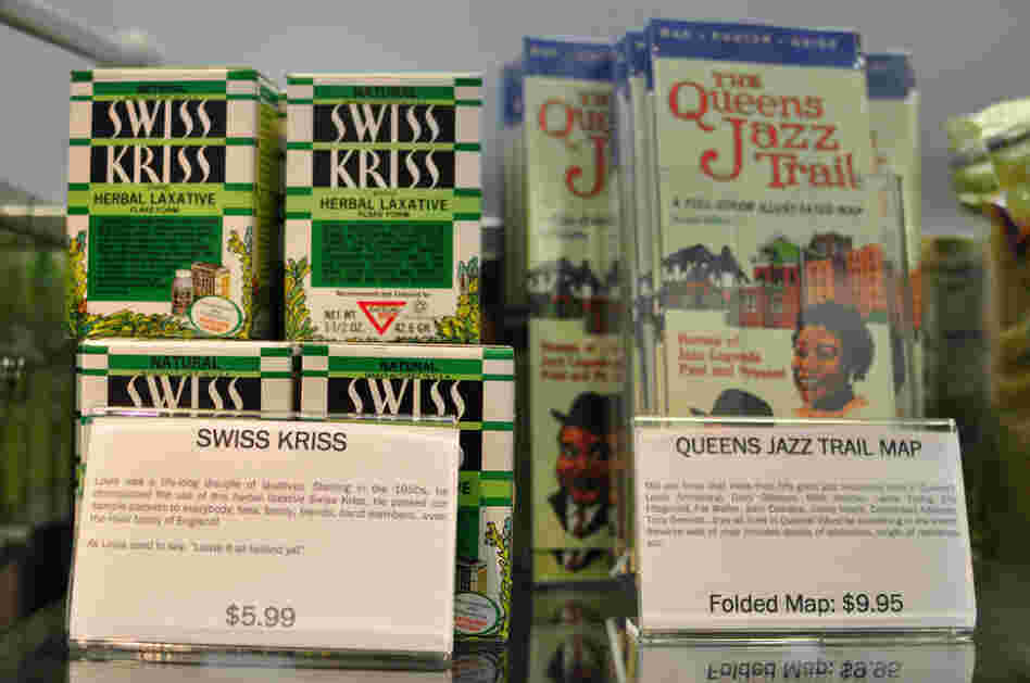 Swiss Kriss is for sale in the Louis Armstrong House Museum gift shop — when the LAHM can keep it in stock.