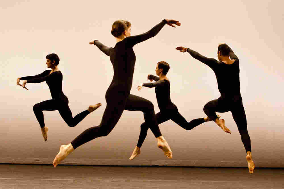 Performers in Merce Cunningham's 1958 dance piece Antic Meet. The Merce Cunningham Dance Company's Legacy Plan is working to preserve the work of Cunningham, who died in 2009.
