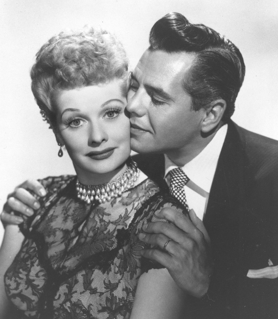 Lucille Ball with husband and <em>I Love Lucy</em> co-star, musician-actor Desi Arnaz. Ball, who died on April 26, 1989, would have celebrated her 100th birthday on Saturday, Aug. 6, 2011.